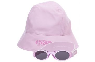 Real Kids Shades Infant Hat/Sunglass Combo Pack - Pink - 0 - 24 Months, Pink, 0 - 24 Months INFHATSUNPNK