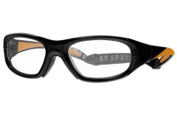 Rec Specs MX-20 BASEBALL Protective Eyewear Black Frame,Clear Lens, Unisex MX-20BBLCK5117125C