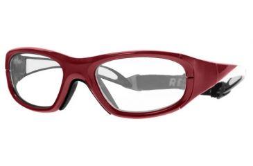 Rec Specs MX-20 BASEBALL Protective Eyewear Crimson Frame,Clear Lens, Unisex MX-20BCRIM4817125C