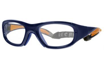 Rec Specs MX-20 BASEBALLProtective Eyewear Royal Blue Frame,Clear Lens, Unisex MX-20BRYBL5117125C