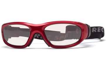 Rec Specs MX-21Protective Eyewear Crimson Frame,Clear Lens, Unisex MX-21CMBK4817C