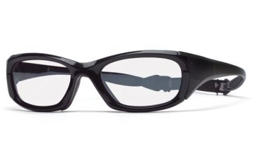 Rec Specs MX-30 Protective Eyewear Shiny Black Frame,Clear Lens, Unisex MX-30SHBK5317130C