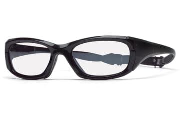 Rec Specs MX-30 Protective Eyewear Shiny Black Frame,Clear Lens, Unisex MX-30SHBK5520130C