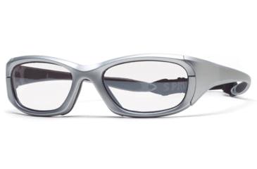 Rec Specs MX-30 Protective Eyewear Silver Frame,Clear Lens, Unisex MX-30PLSI5520130C