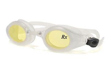 Rec Specs Swim Prescription Goggles Shark - Crystal Frame
