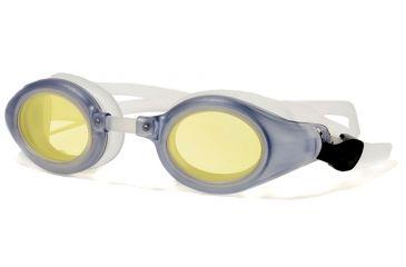 61d7565fd1d Rec Specs Swim Goggles Grey Frame w  Prescription Lenses