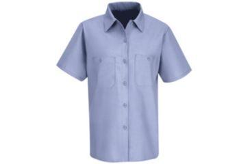 Red Kap Industrial Work Shirt, Light Blue, SSXXL SP23LBSSXXL
