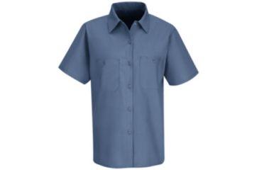 Red Kap Industrial Work Shirt, Petrol Blue, SSXL SP23MBSSXL