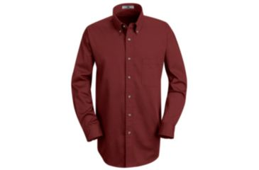Red Kap Mens Meridian Performance Twill Shirt, Men, 1T12BU, RGS 1T12BURGS