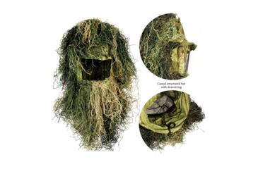 10-Red Rock Outdoor Gear 5 Piece Ghillie Suit