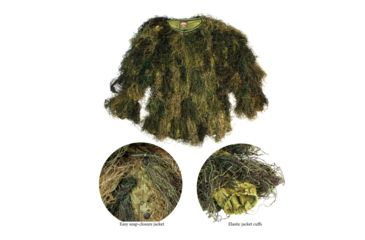 11-Red Rock Outdoor Gear 5 Piece Ghillie Suit
