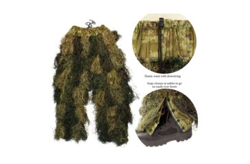 14-Red Rock Outdoor Gear 5 Piece Ghillie Suit