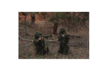 Red Rock Outdoor Gear 5 Piece Ghillie Suit, Woodland, Youth Medium 70915YM
