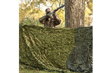 Red Rock Outdoor Gear Hunting Series Camouflage Netting, Woodland, 6ftx8ft 068G