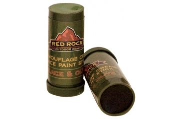 1-Red Rock Outdoor Gear 2-sided Paint Stick Face Paint Green & Black