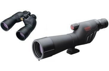 Redfield Rampage 20-60x60mm Spotting Scope Kit w/ Leupold Rogue 10x50mm Black Binocular 65555