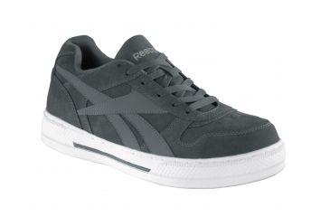 065947b2f57e Reebok Dayod Grey And Silver Skate Shoe