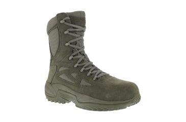 Reebok Rapid Response 8in. Sage Green Military Boot  174f3bf7f