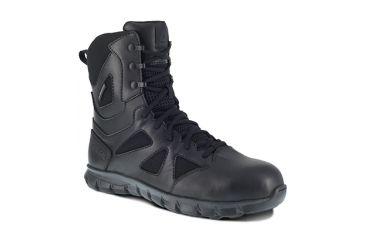 9b8946e3025952 Reebok Sublite Cushion 8 inch Composite Toe Tactical Boot w Side Zip - Mens