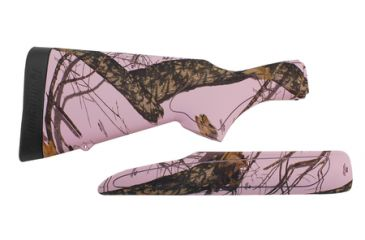 Remington 870 Compact Synthetic Stock And Forend 20 Gauge Mossy Oak Pink Camouflage