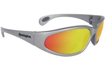 Remington Shooting Glasses, Silver Frame, Yellow Mirror T70-65