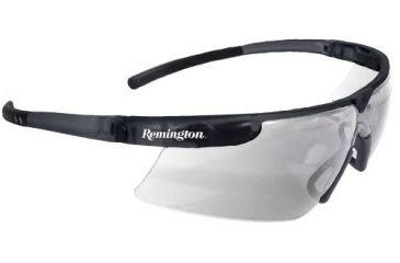 Remington T-72 Safety Glasses, Black Frame, Clear Lens - T72-10C