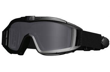 Revision Desert Locust Fan-vented tactical Goggles, Black 4-0309-0251