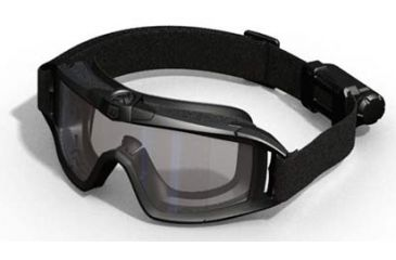 Revision Desert Locust Tactical Goggles with fan, Black