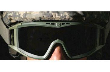 Revision Desert Locust Fan Goggles, Foliage Green -  Essential Kit 4-0309-0250