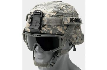 Revision Desert Locust Military Goggle & PDQ Quick Release Combo, F.Green 4-0309-9519