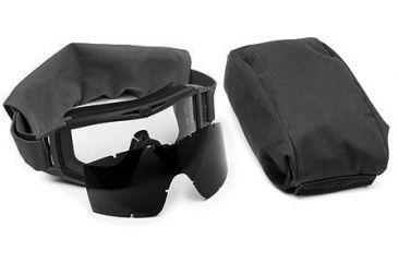 Revision Eyewear Desert Locust Ballistic Goggle Essential Kit, Black