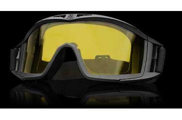Revision Desert Locust Basic Goggles - Black Frame, High Contrast Yellow