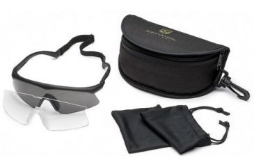 a96fa6f1a941 Revision Sawfly Ballistic Eyeshield Essential Kit - Large Black Frame  400760301