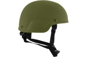 Revision Viper A1 Helmet, Full Cut, 1Nvg, Olive Green, Small 4-0516-9230