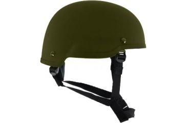 Revision Viper P2 Helmet, Mid Cut, 1Nvg, Olive Green, Small 4-0501-5133