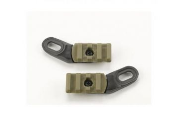 Revision Viper Mini Rails, Tan 499, One Size 4-0533-5003