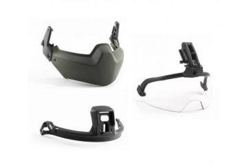 Revision Viper Modular Head Protection 3 Piece System, Black, Small 4-0509-5024