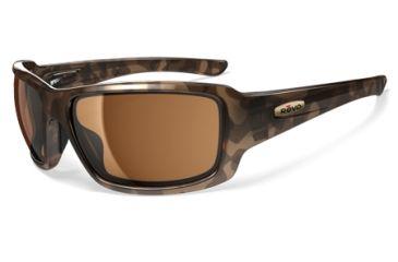 Revo Bearing Tortoise Nylon Frame, Bronze Lens Sunglasses - RE4057-04