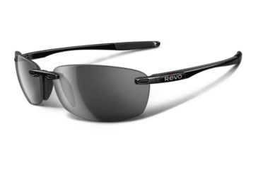 26a2387e88 Revo Descend E Polished Black Nylon Frame