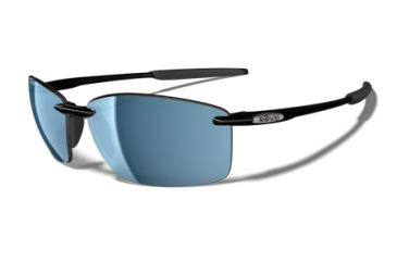 Revo Mooring Polished Black Nylon Frame, Water Lens Sunglasses - RE4043-07
