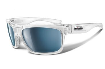 Revo Stern 4056 RX Single Vision Sunglasses - Polished Clear, Clear Nylon Frame RE4056-04RX