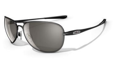 Revo Transom Titanium 8003 RX Single Vision Sunglasses - Polished Black Metal Frame RE8003-01RX