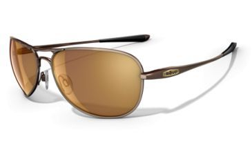 Revo Transom Titanium 8003 RX Single Vision Sunglasses - Polished Brown Metal Frame RE8003-02RX