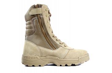 Ridge Outdoors 3105 Dura-Max Desert Zipper Boot, Black, 14W 3105-14.0W