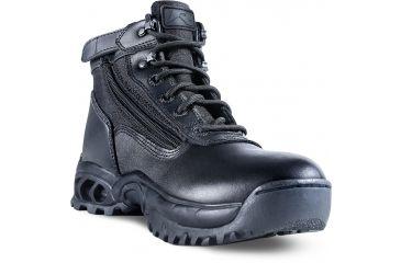 Ridge Outdoors 8003ST Mid Side Zip Steel Toe Boot, Black, 10 8003ST10.0