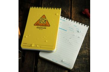 Rite in the Rain 4X6 NOTEBOOK - DAILY LOG, Yellow, 4 x 6 157