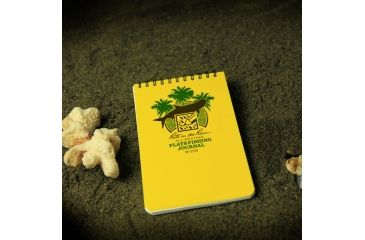 Rite in the Rain 4X6 NOTEBOOK - FLATS FISHING, Yellow, 4 x 6 1733