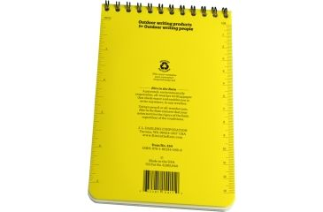 Rite in the Rain 4X6 NOTEBOOK - JOB HAZARD ANALYSIS, Yellow, 4 x 6 154