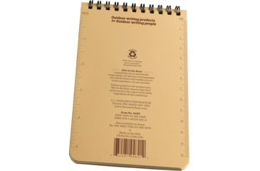 Rite in the Rain 4X6 NOTEBOOK - TAN, Tan, 4 x 6 946T