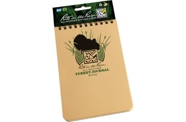 Rite in the Rain 4X6 NOTEBOOK - TURKEY HUNTING, Yellow, 4 x 6 1713